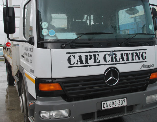Cape Crating Transport
