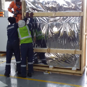 Packing eletrical panels